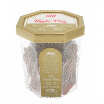 "2"" Gold Bobby Pins - Oni"